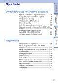 Sony DSC-W350D - DSC-W350D Guide pratique Polonais - Page 5