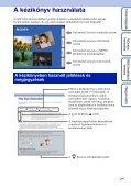 Sony DSC-W350D - DSC-W350D Guide pratique Hongrois - Page 2