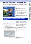 Sony DSC-W350D - DSC-W350D Consignes d'utilisation Espagnol - Page 2