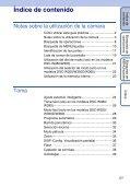 Sony DSC-W350D - DSC-W350D Consignes d'utilisation Espagnol - Page 5
