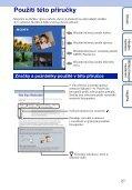 Sony DSC-W350D - DSC-W350D Guide pratique Tchèque - Page 2