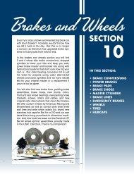 Brakes And Wheels - Danchuk