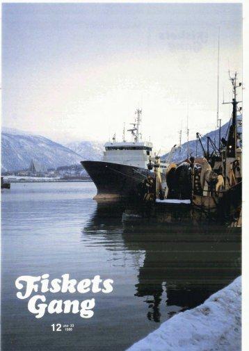 Fiskets Gang. Nr. 13-1988. 74. årgang - Havforskningsinstituttet