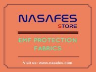 EMF Protection Fabrics at best price   At Nasafes