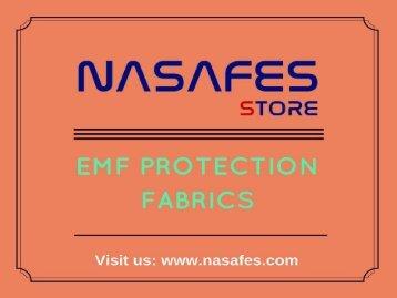 EMF Protection Fabrics at best price | At Nasafes