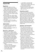 Sony D-VE7000S - D-VE7000S Consignes d'utilisation Slovaque - Page 6