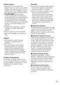 Sony D-VE7000S - D-VE7000S Consignes d'utilisation Slovaque - Page 7