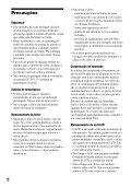 Sony D-VE7000S - D-VE7000S Consignes d'utilisation Portugais - Page 6