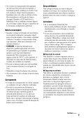 Sony D-VE7000S - D-VE7000S Consignes d'utilisation Portugais - Page 7