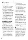 Sony D-VE7000S - D-VE7000S Consignes d'utilisation Espagnol - Page 6