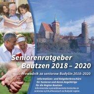 Seniorenratgeber Bautzen 2018 - 2020