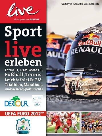 DERTOUR Sportliveerleben 2012