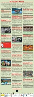 Programm Zentralschweizer RomeroTage 2010 - RomeroHaus Luzern - Seite 2