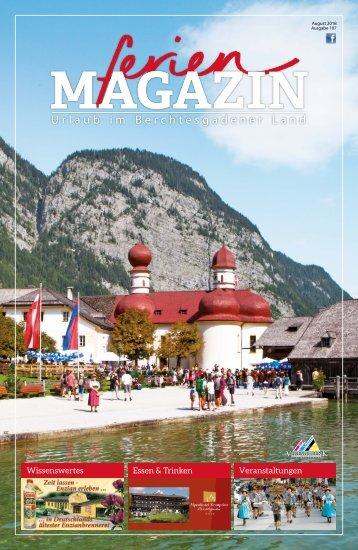 Ausgabe 107 - ferienmagazin - Urlaub im Berchtesgadener Land