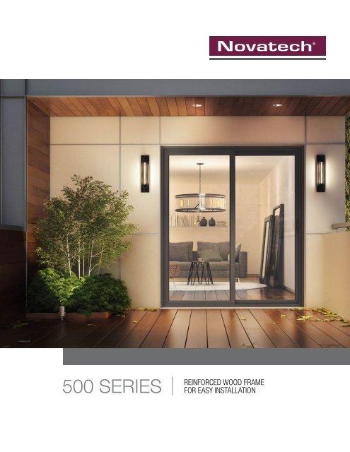 500 Series - Novatech Patio Doors