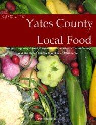 Yates County Local Food Guide.pub - Cornell University