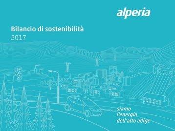 Bilancio di sostenibilità Alperia 2017
