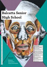 Balcatta Senior High School - ArtsEdge