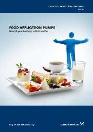 food application pumps - Grundfos