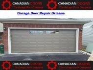 Garage Door Repair Orleans