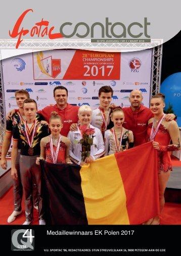 SportacContact JG32 - Nr 2 - maart 2018
