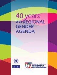40 years of the regional gender agenda