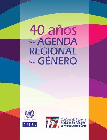 40 años de Agenda Regional de Género