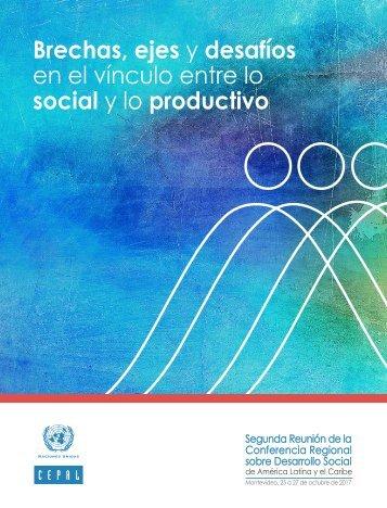 Brechas, ejes y desafíos en el vínculo entre lo social y lo productivo