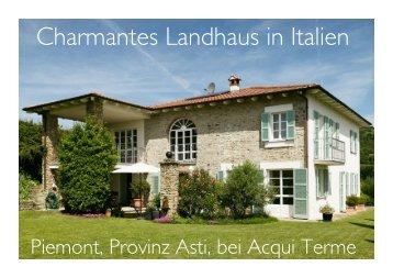 Landhaus mit Charme im Piemont (draft)
