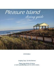 Pleasure Island Dining Guide 2018