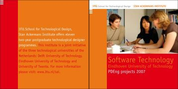 Software Technology - Stan Ackermans Institute - TU/e