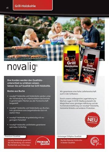 Grill-Holzkohle NEU