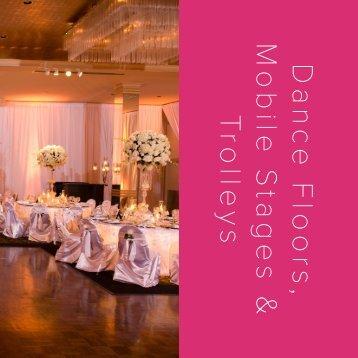 Dance Floors Mobile Stages Trolleys