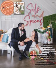 Real Weddings Magazine - Summer/Fall 2018 - Silk and Spices-A Decor Inspiration Story {The Digital Layout}