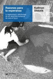 Sikkink Razones para la esperanza Version PDF