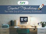Digital Marketing -New Era of Conneting Business