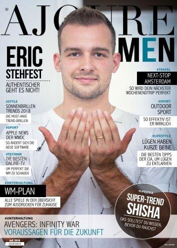 AJOURE´ Men Magazin Juli 2018