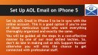 1-800-488-5392 Set Up AOL Email On iPhone 5 - Page 2