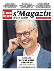 s'Magazin usm Ländle, 17. Juni 2018