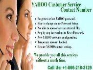 Yahoo Customer Support Number +1-866-218-3129 Canada