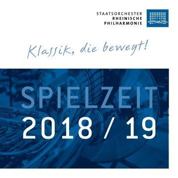 Spielzeit 2018 / 19