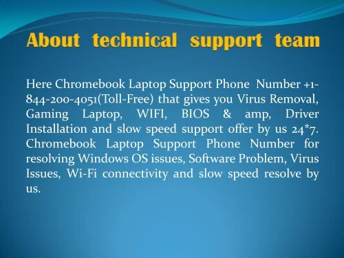 chromebook Support Number +1-844-200-4051 (2)