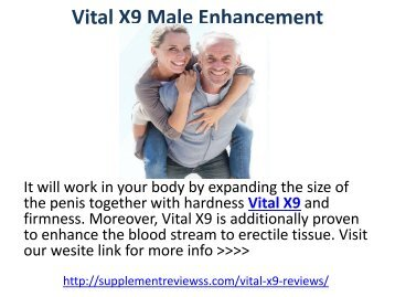 Vital X9 Male Enhancement