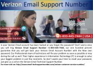 Call +1-833-445-7444 Verizon Email Tech Support Number