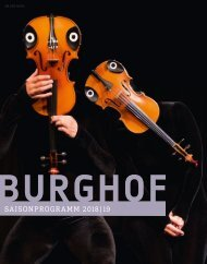 Burghof Saisonprogramm 2018/19
