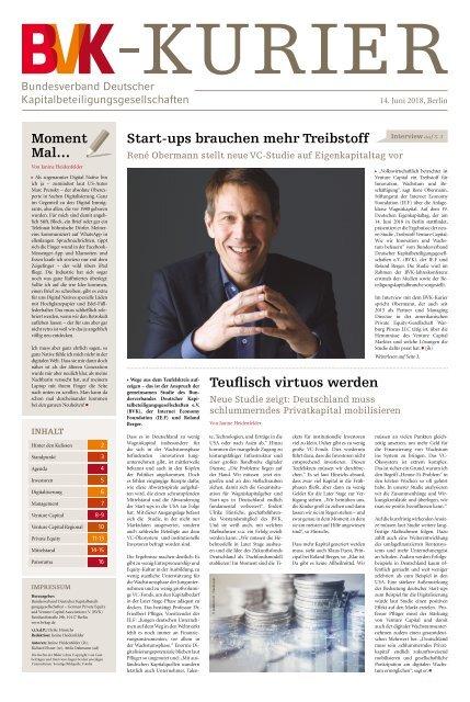 BVK_Kurier - Ausgabe 2018