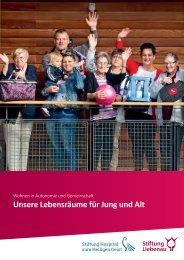 Broschüre Lebensräume für Jung und Alt