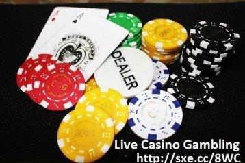 Live Casino Gambling Betting