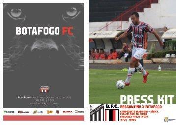 Bragantino x Botafogo - Camp. Brasileiro Série C - 16/06/2018