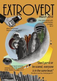 Extrovert March 2018